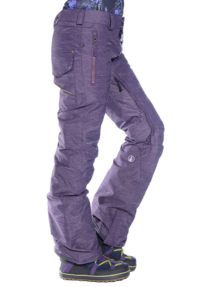 volcom womens snowboarding pants photo - 2