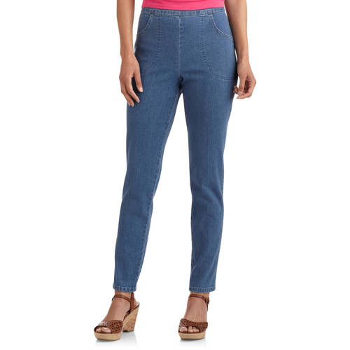 white stag womens pull on pants photo - 2