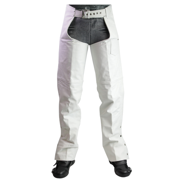 white womens motorcycle pants photo - 2