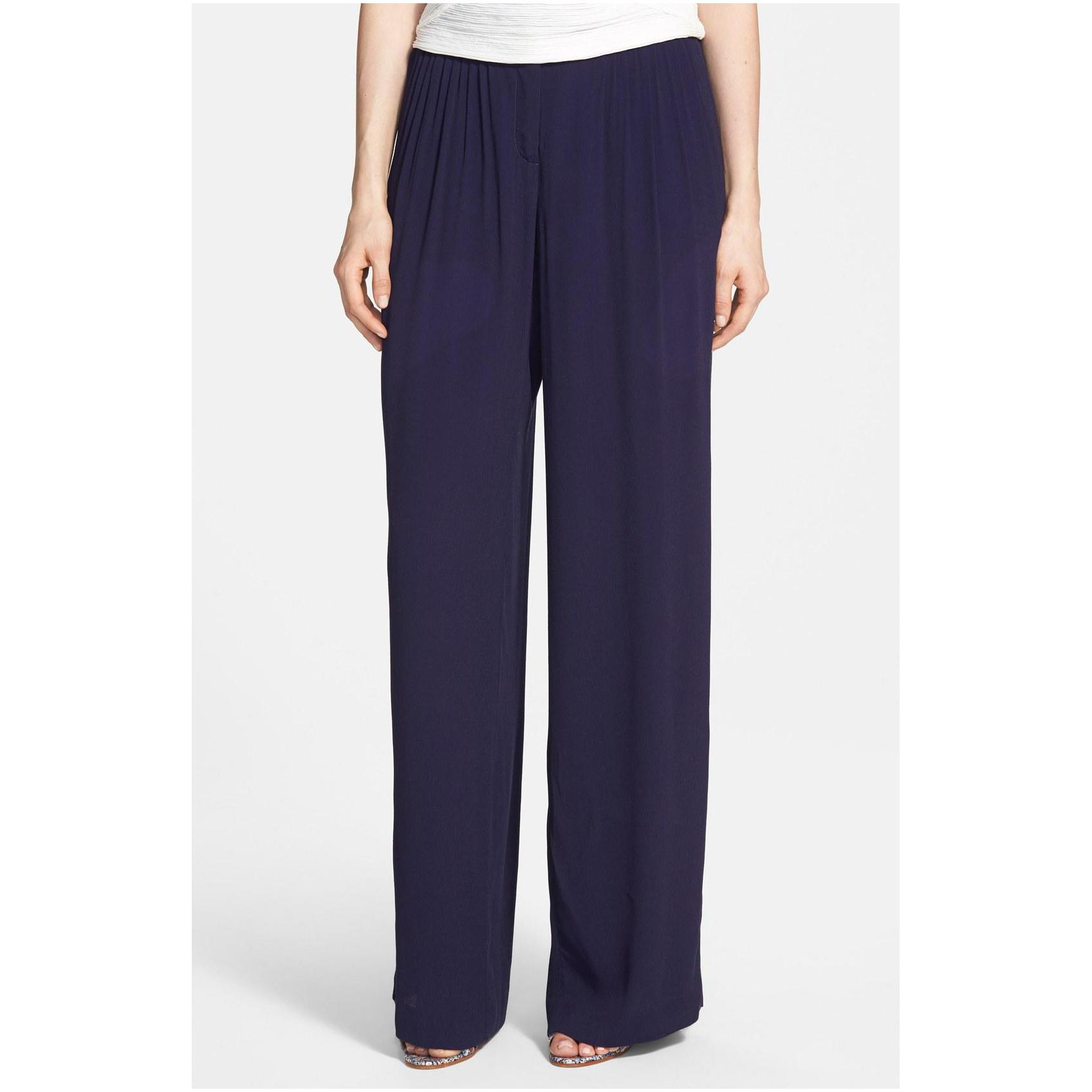 wide leg pants womens photo - 2
