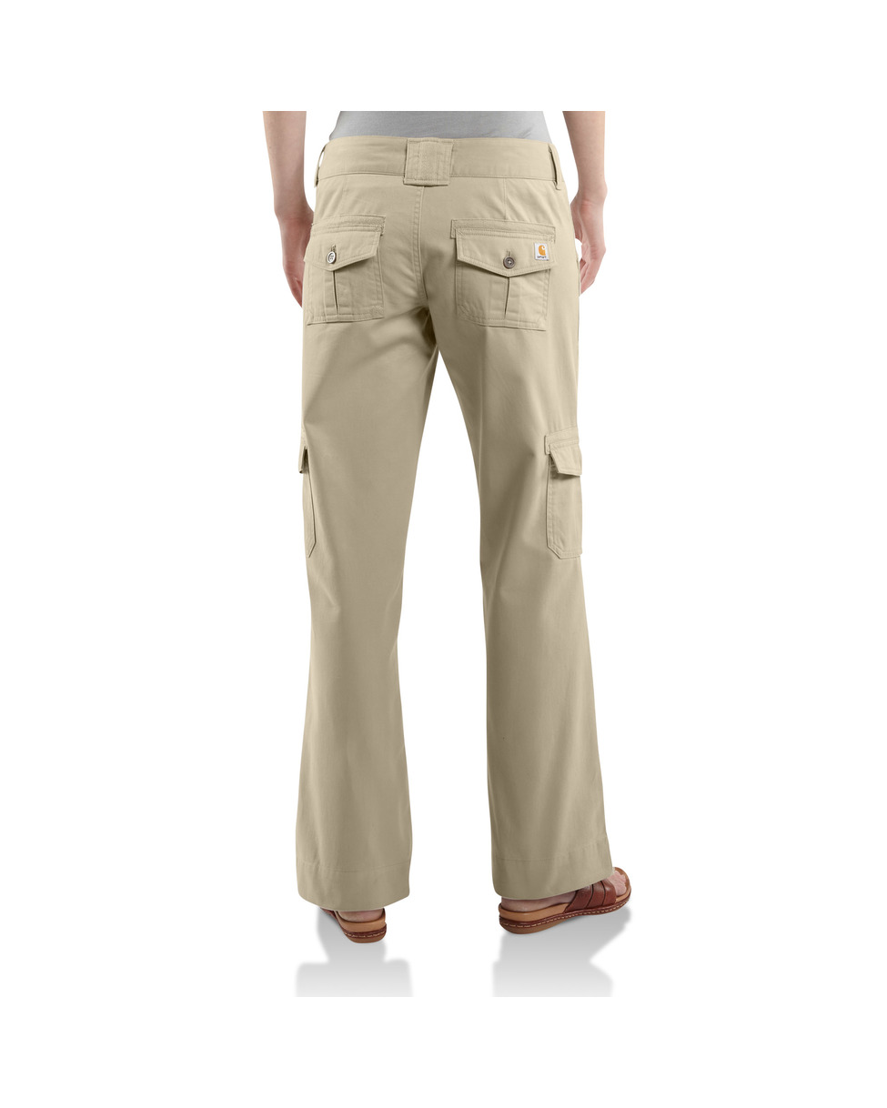 women s baggy cargo pants photo - 2