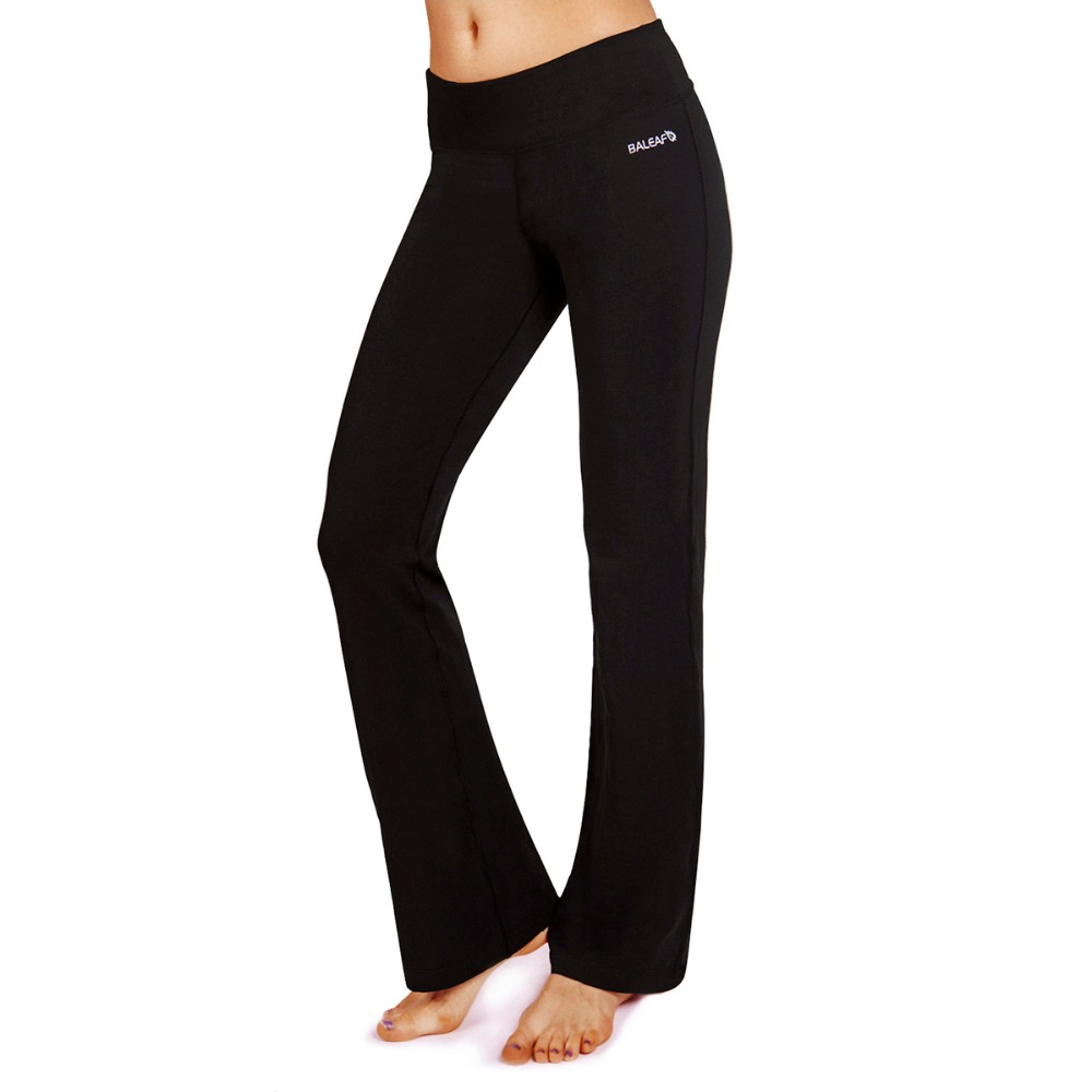 women s black pants with pockets photo - 1