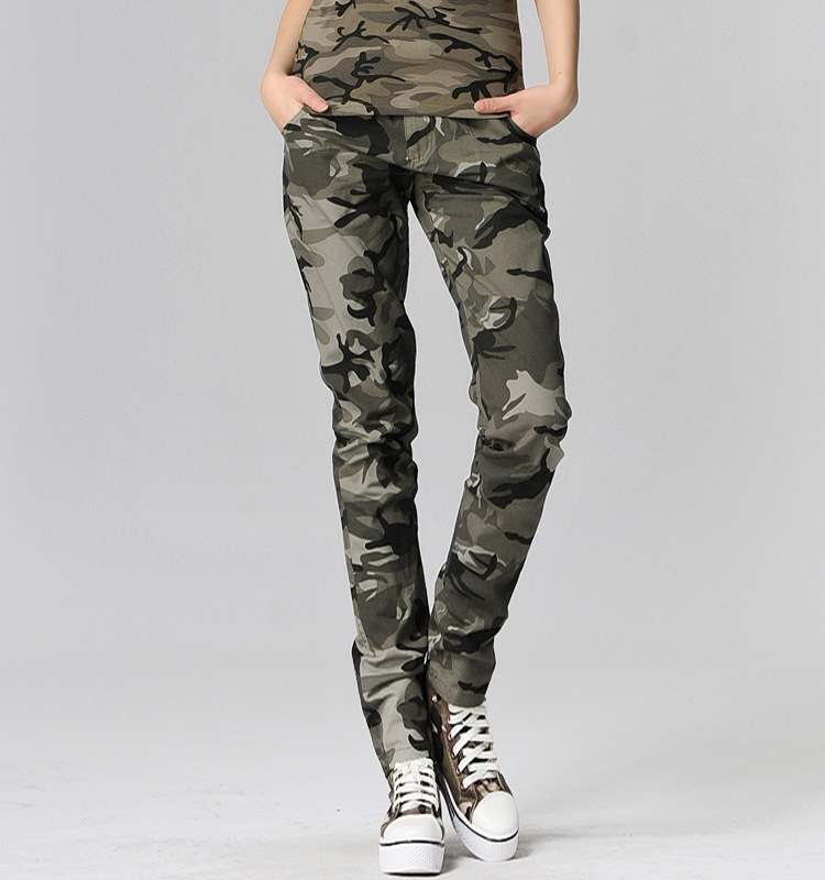 women s camouflage cargo pants uk photo - 1