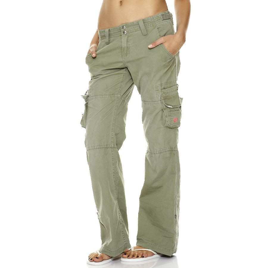 women s cargo yoga pants photo - 1