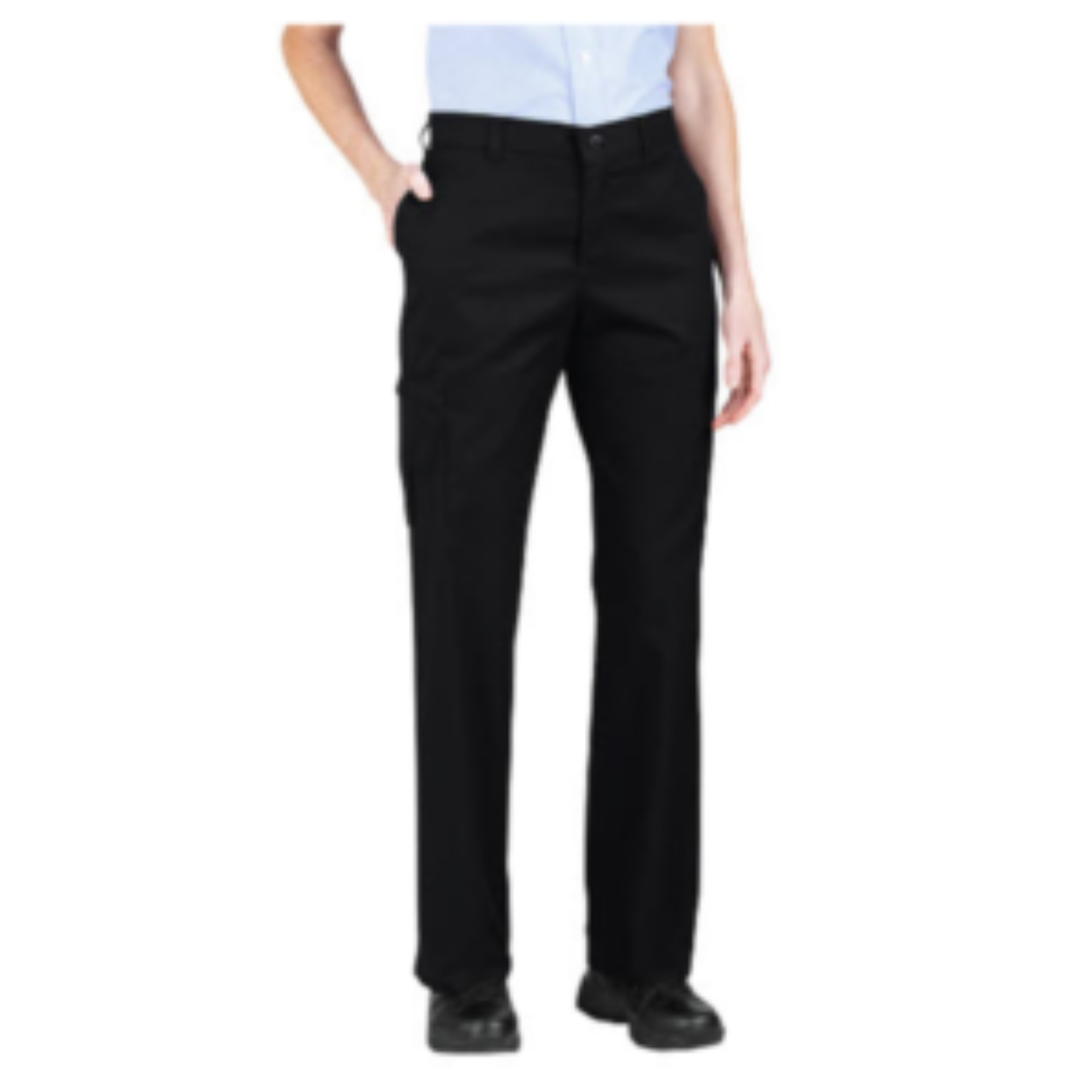 women s exercise cargo pants photo - 2
