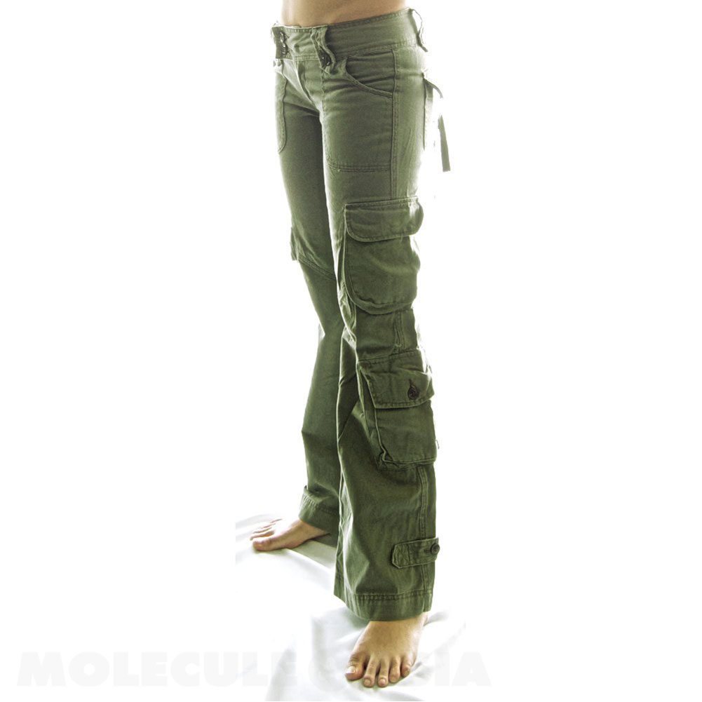 women s hipster cargo pants photo - 1