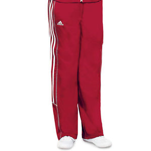 women s red track pants photo - 1
