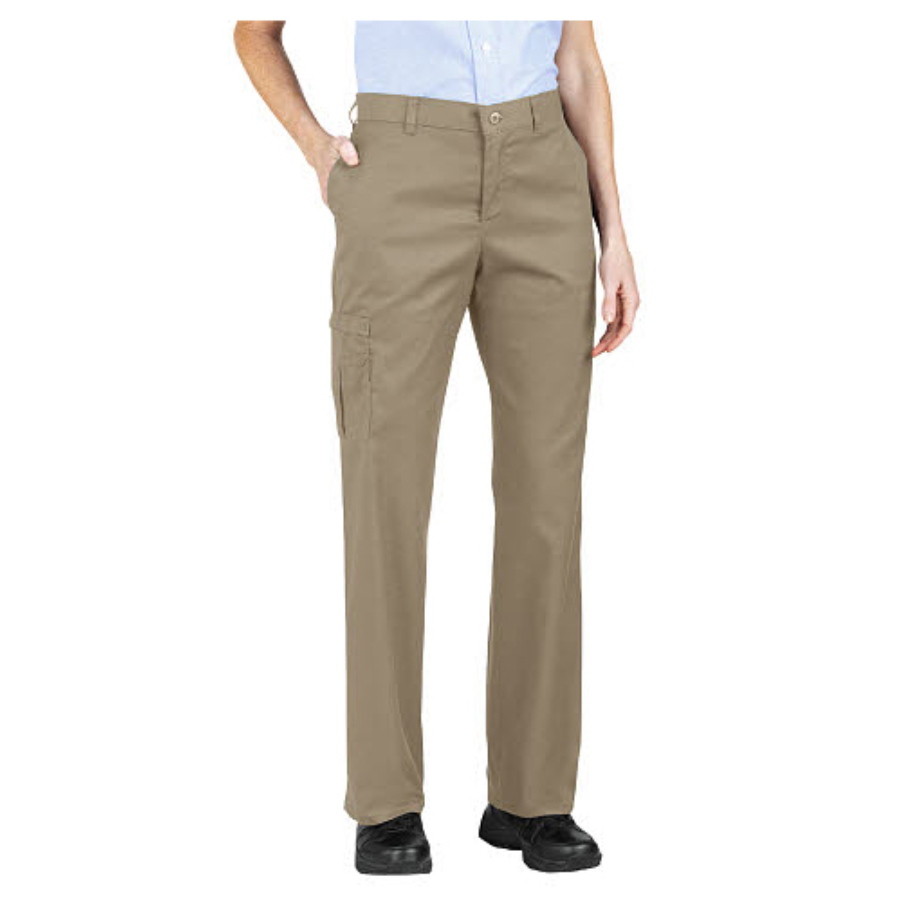 women s relaxed fit exercise pants photo - 2