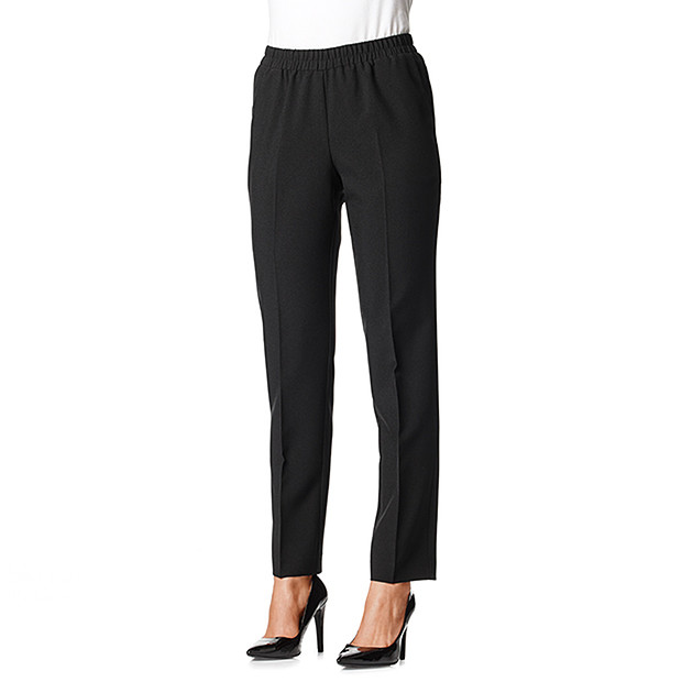 womens black dress pants target photo - 2