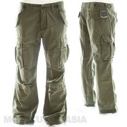 womens bootcut cargo pants photo - 2