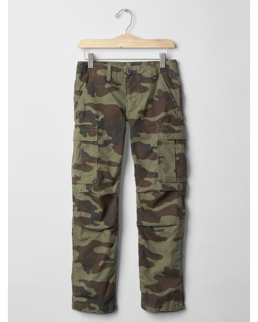 womens camo cargo pants gap photo - 1