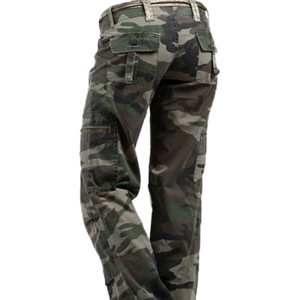 womens camouflage pants photo - 1