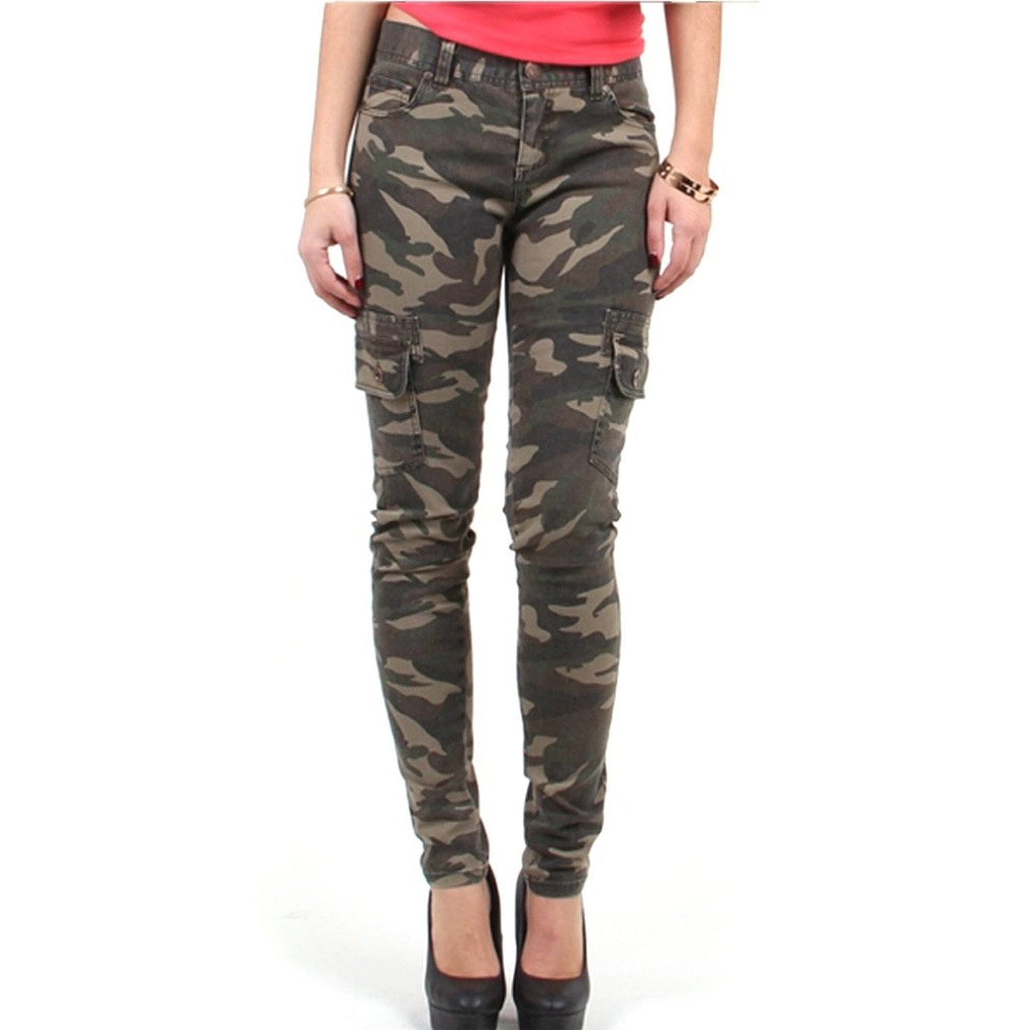 womens camouflage pants photo - 2