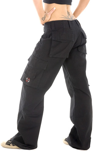 womens cargo motorcycle pants photo - 1