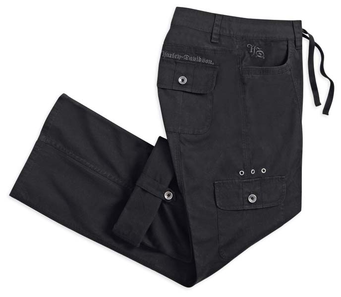 womens cargo motorcycle pants photo - 2