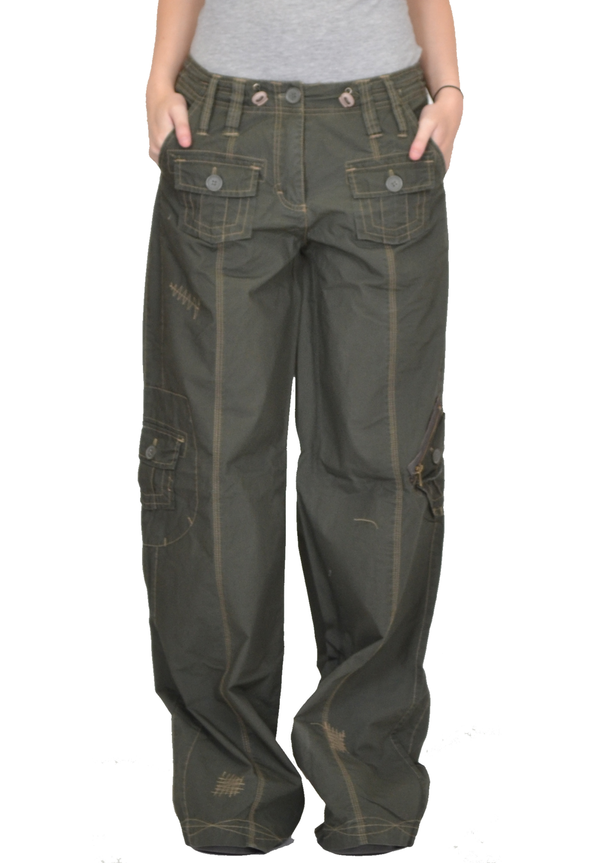 womens cargo pants big w photo - 1