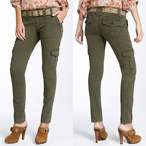 womens cargo pants just jeans photo - 1