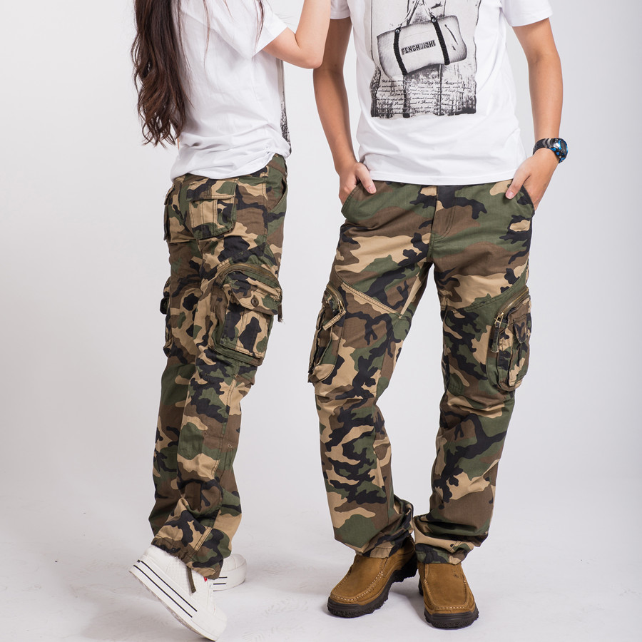 womens cargo pants on sale photo - 1