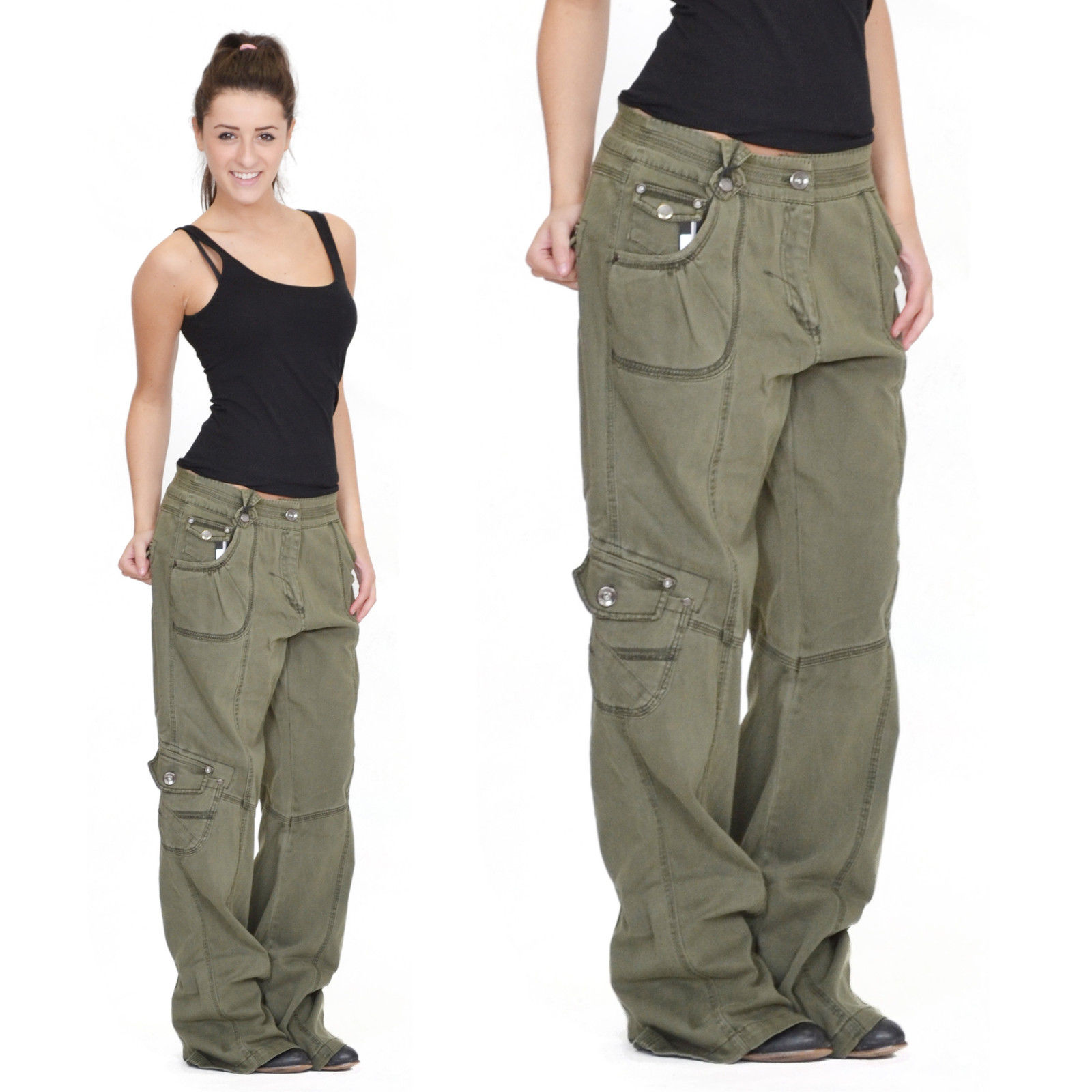 womens cargo pants size 18 photo - 2
