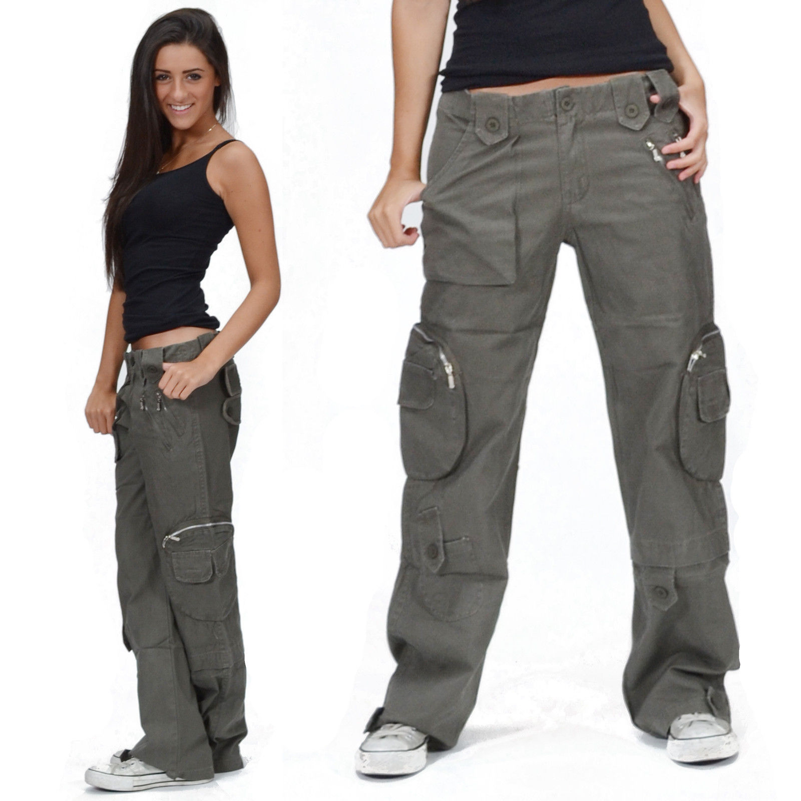 womens cargo pants uk photo - 2