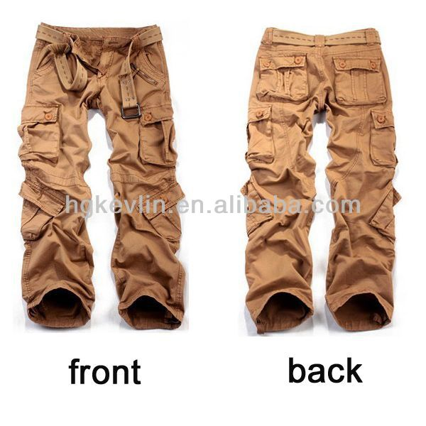 womens cargo pants with lots of pockets photo - 1