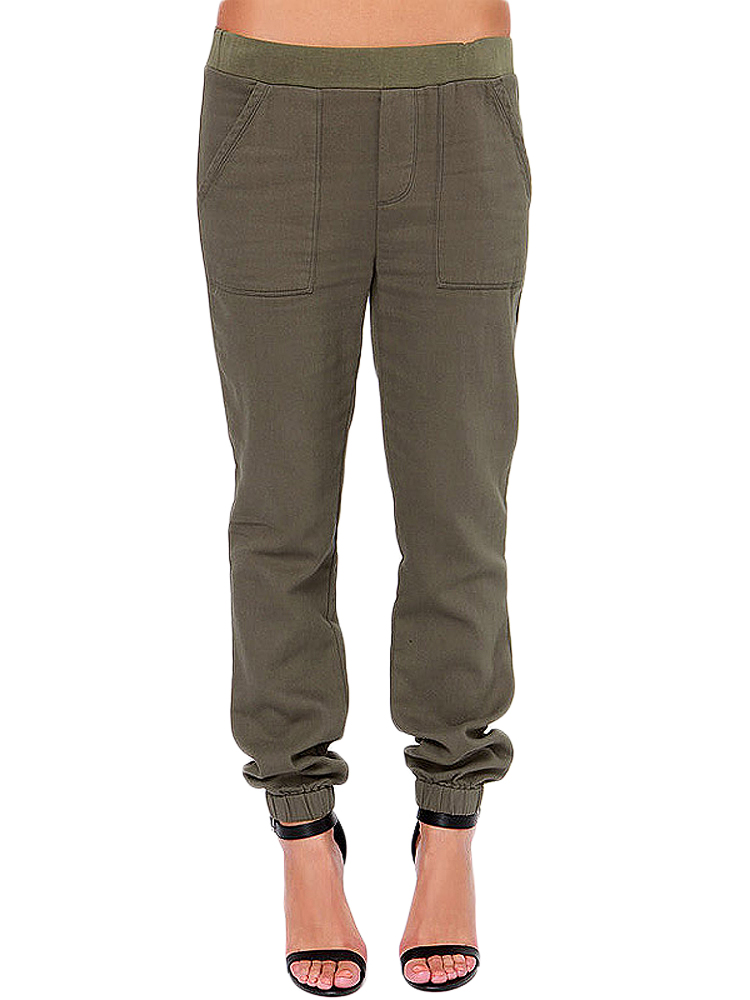womens cargo pants with pockets photo - 1