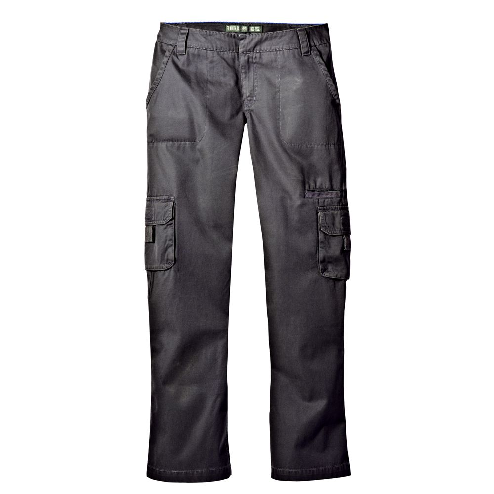 womens cargo work pants photo - 1