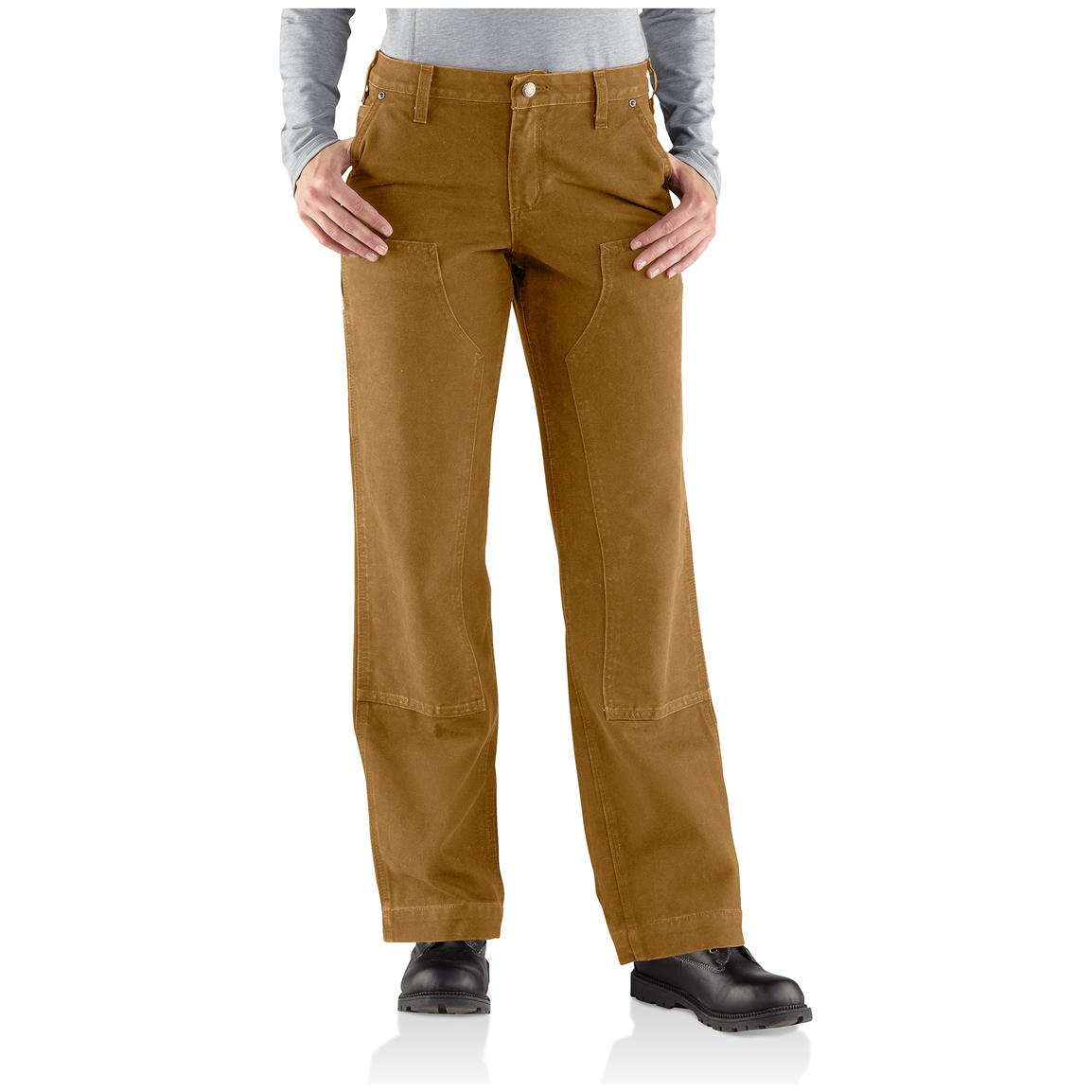womens carhartt pants photo - 1