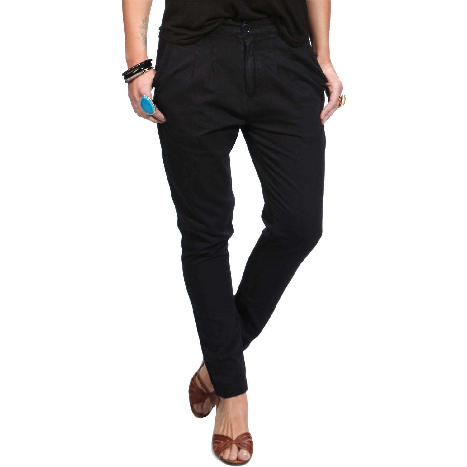 womens chino pants photo - 1