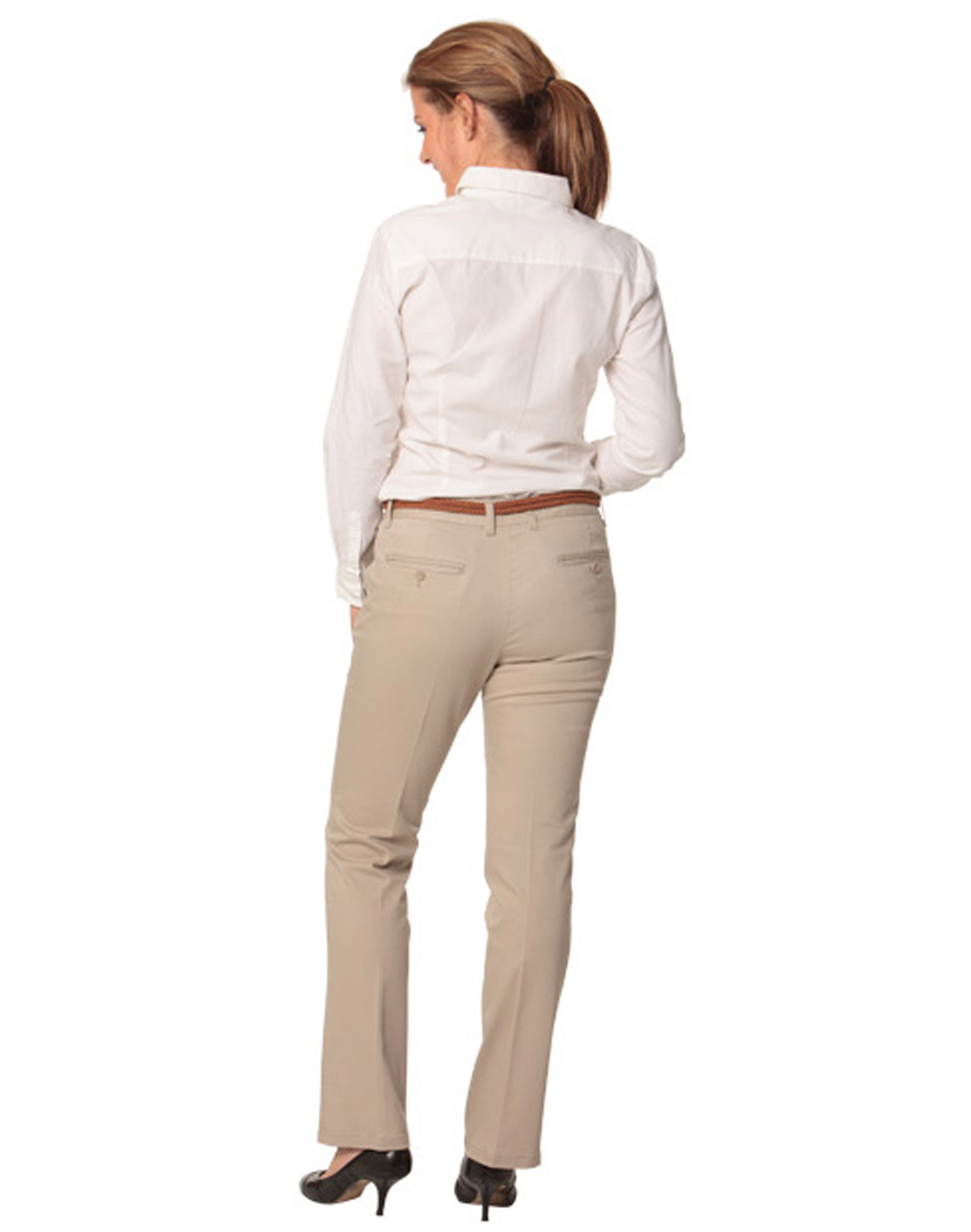 womens chino pants photo - 2