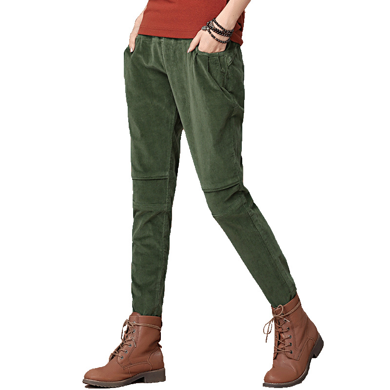womens corduroy pants photo - 2