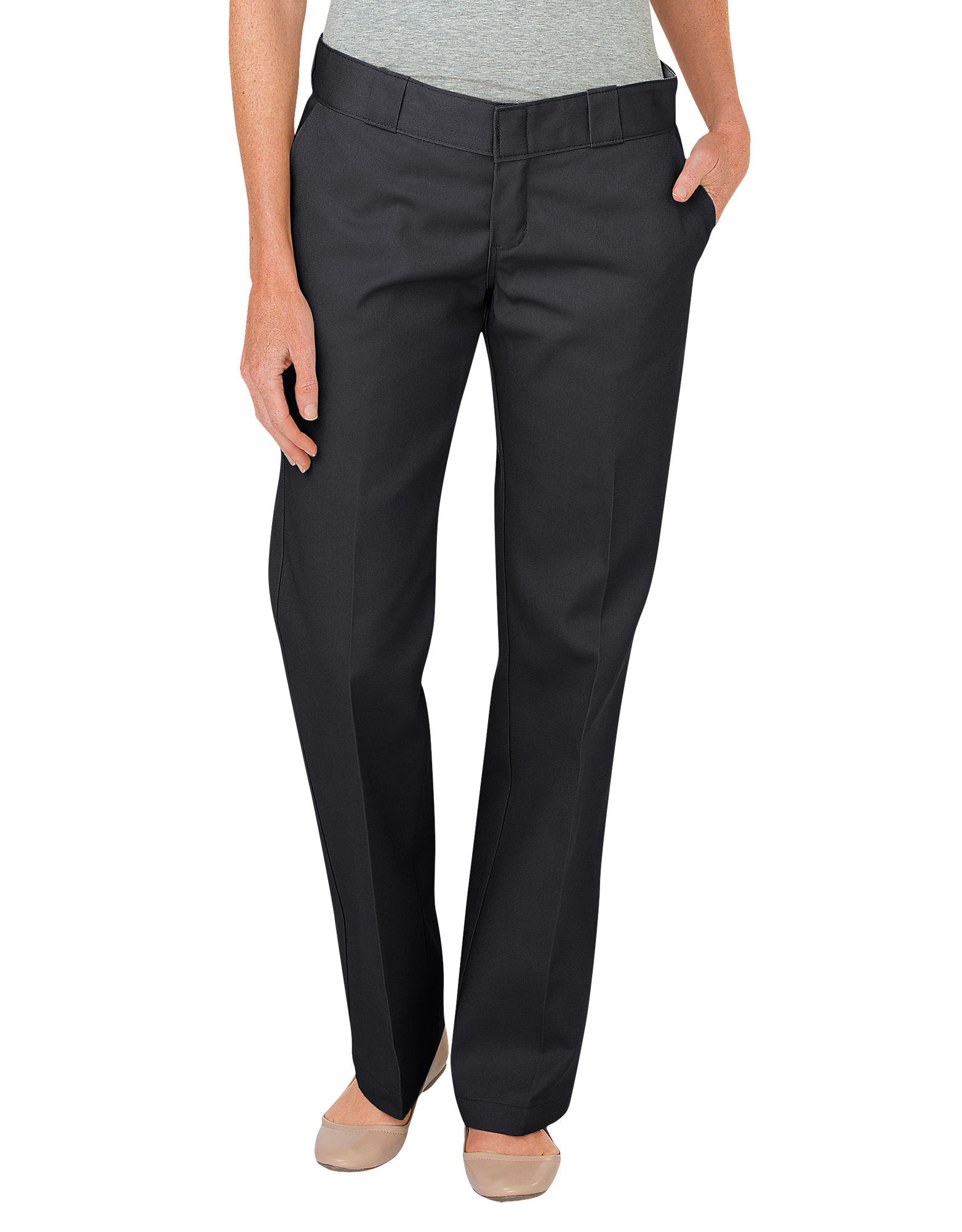 womens dickies work pants photo - 1