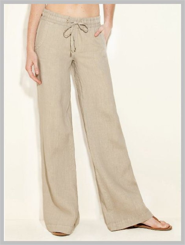 womens drawstring pants photo - 1