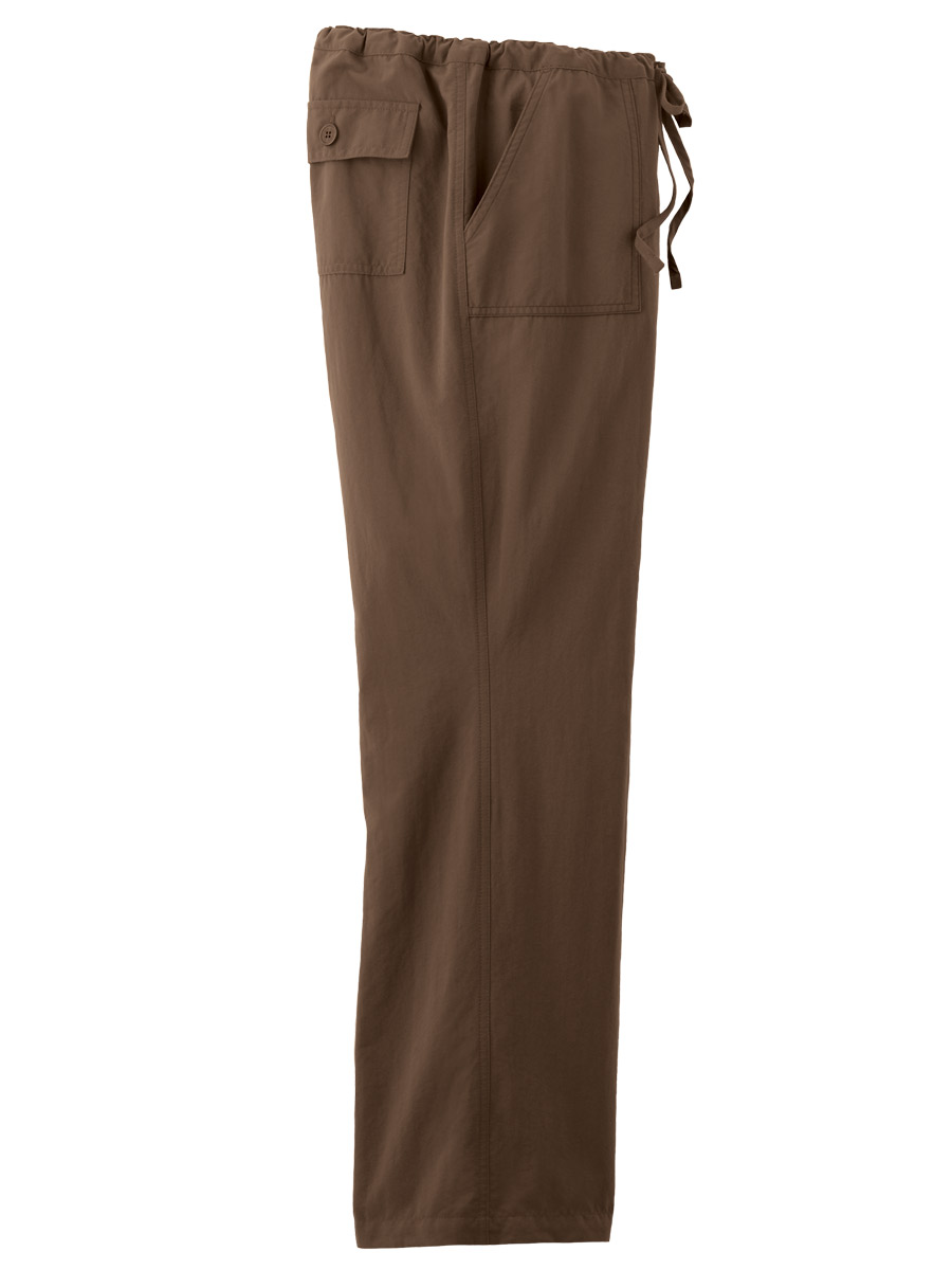 womens drawstring pants photo - 2