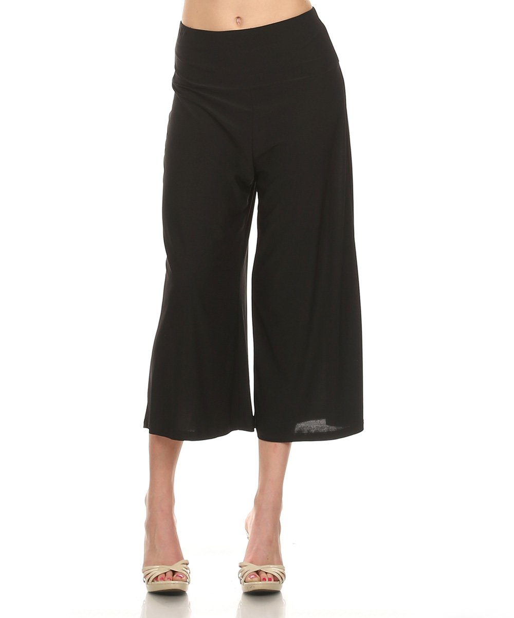 womens goucho pants photo - 2