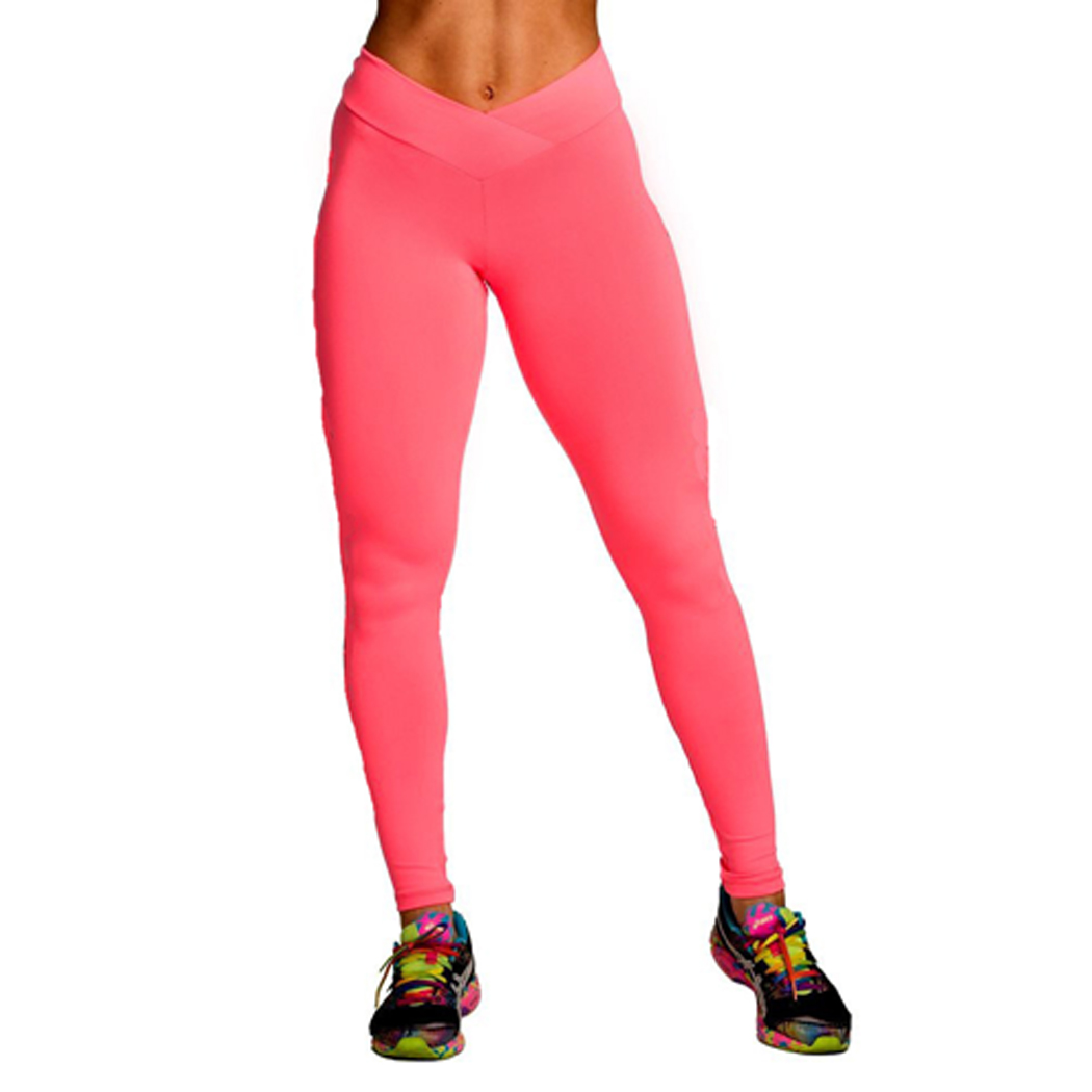 womens high waisted exercise pants photo - 1