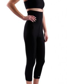 womens high waisted exercise pants photo - 2