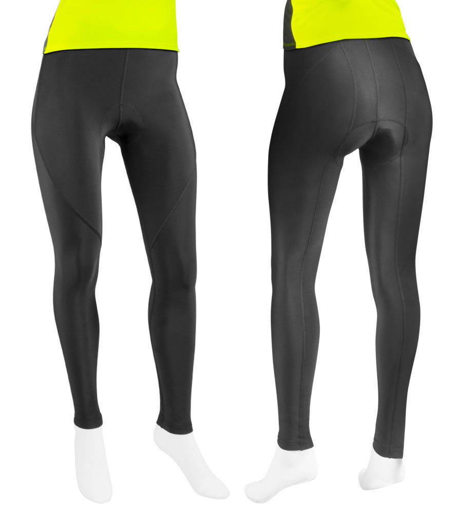 womens padded cycling pants photo - 1
