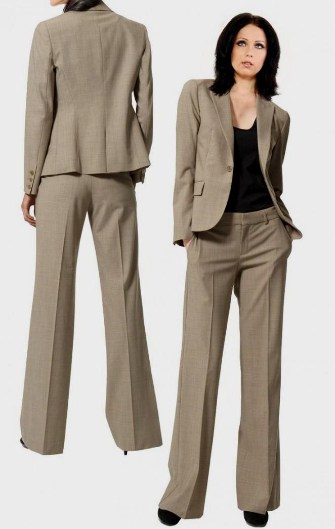 womens pants suits dressy photo - 1