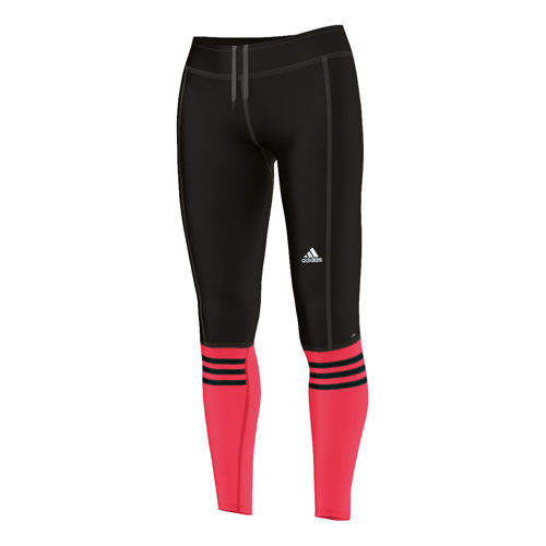 womens red running pants photo - 1