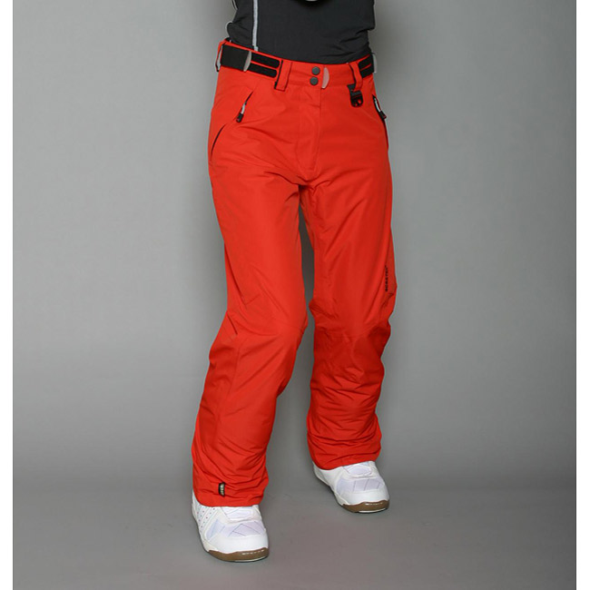 womens red snow pants photo - 1