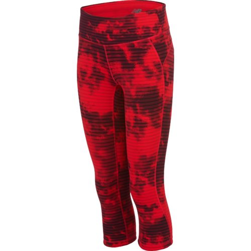 womens red spandex pants photo - 1