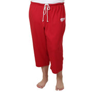 womens red wings pants photo - 2