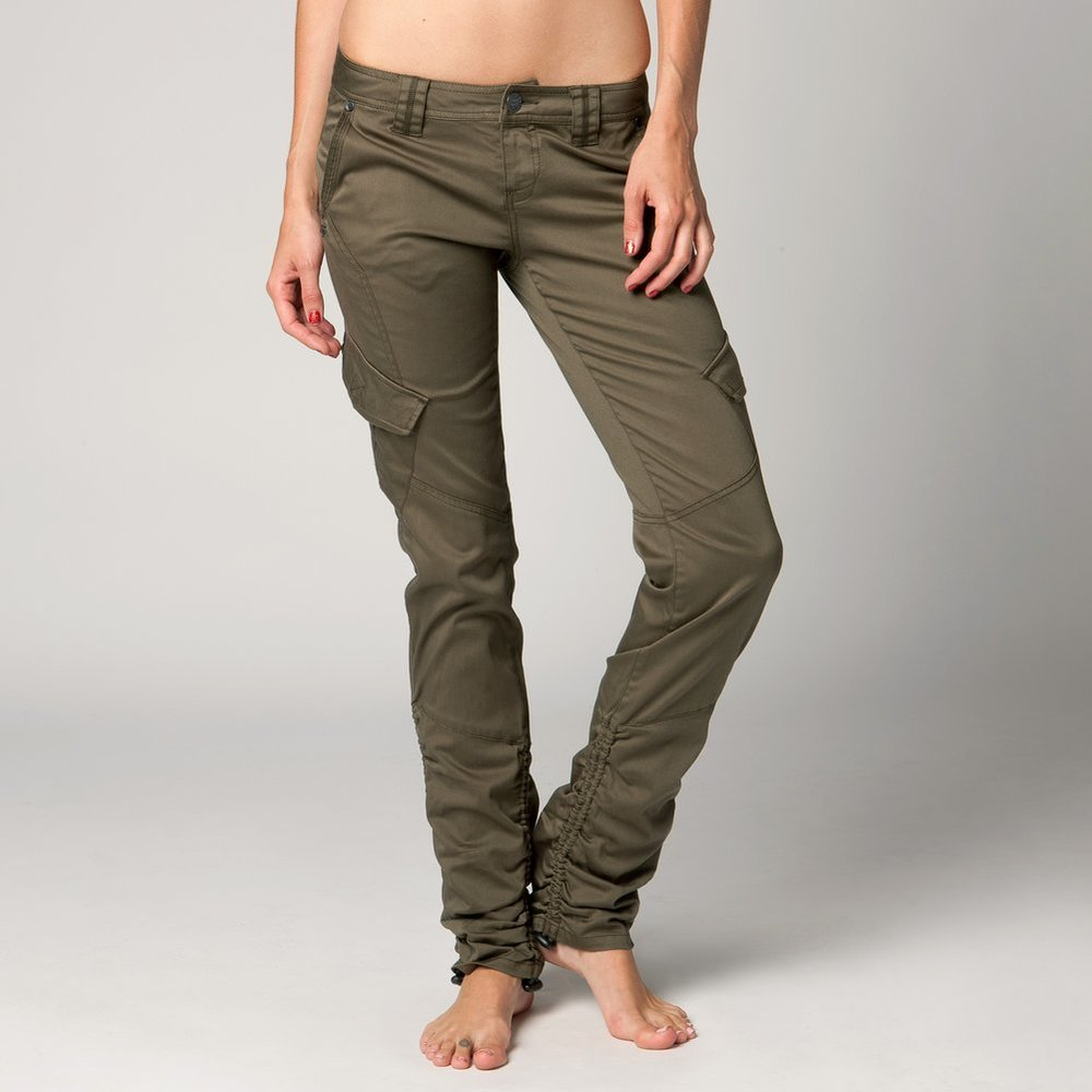 womens skinny cargo pants photo - 2
