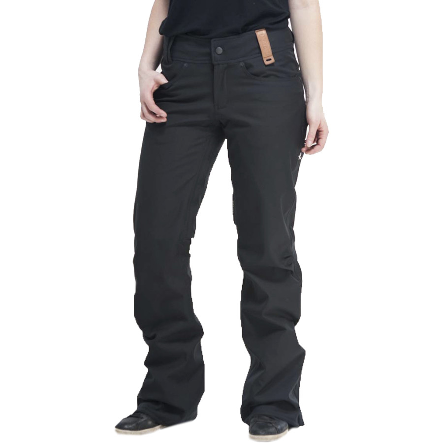 womens stretch pants photo - 1