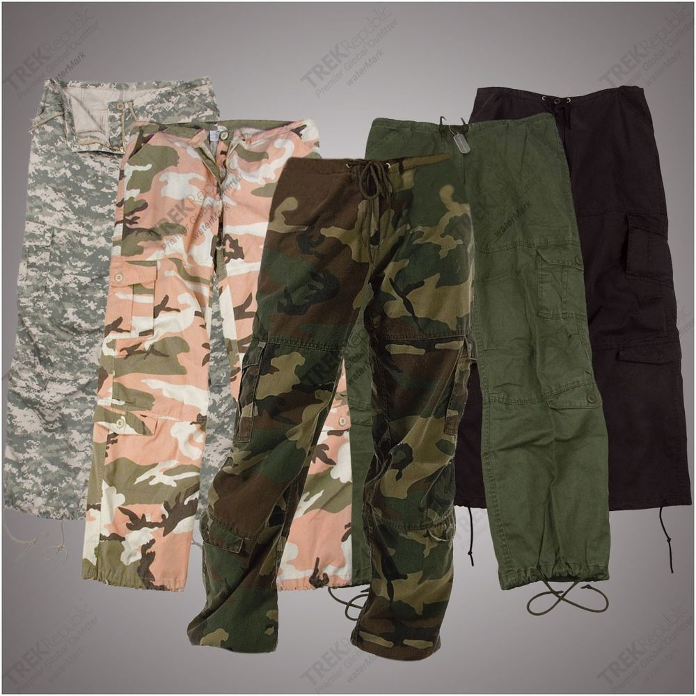 womens tactical cargo pants photo - 1