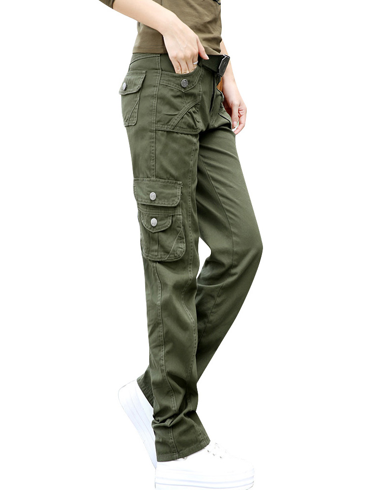 womens tactical cargo pants photo - 2