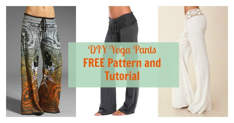 yoga pant pattern free photo - 2