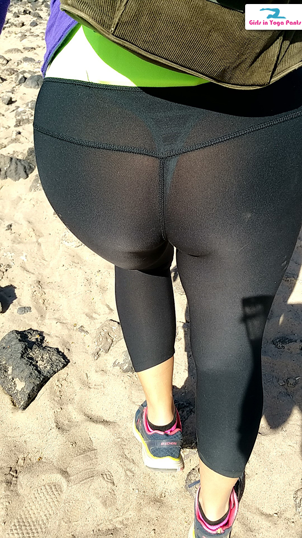 yoga pant see through photo - 1