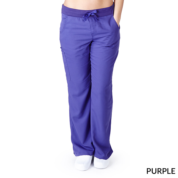 yoga pant style scrubs photo - 2